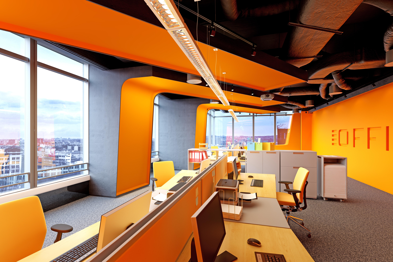 La psicología del color en la oficina