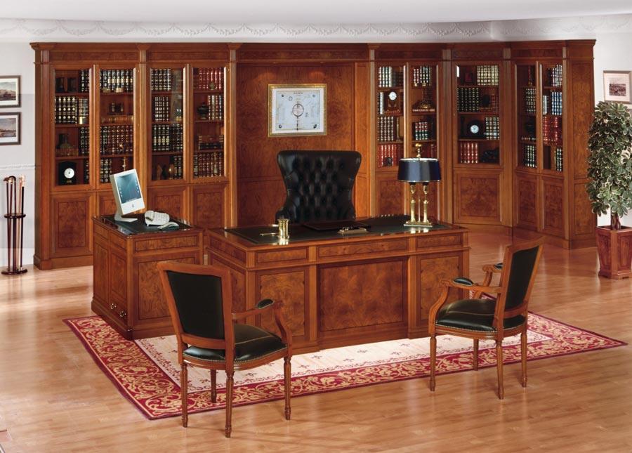 Diseño de oficina clásica