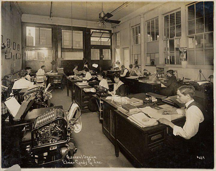 Oficinas antiguas VS Oficinas Actuales (II)
